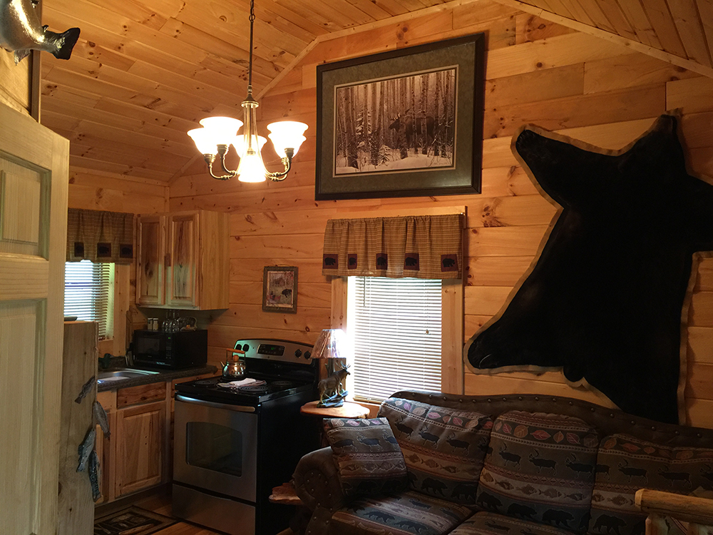 info bow ok interior broken bear lake cabins lodging sundown in onlinechange mountain